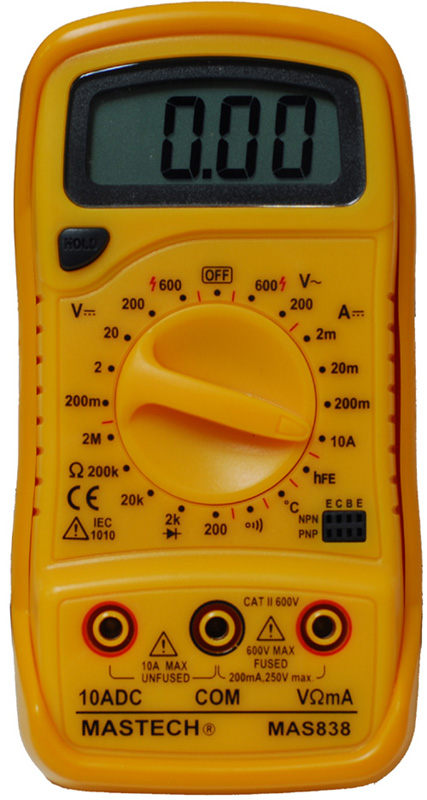 Мультиметр mas838 инструкция скачать